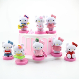 Figurine hello kitty and friends x8