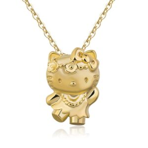 Collier hello kitty jaune