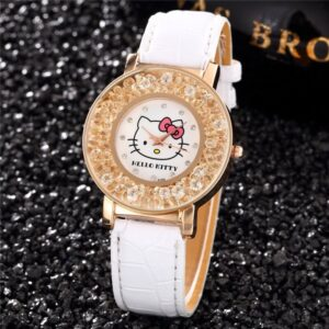 montre hello kitty diamant