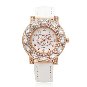 Montre hello kitty blanc