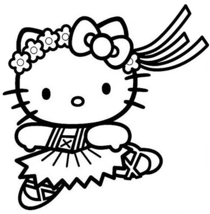 colorier hello kitty 1