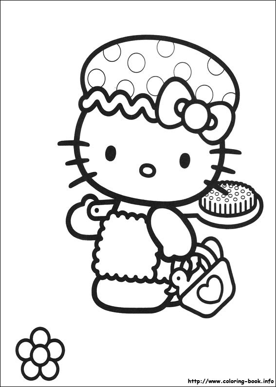 colorier hello kitty 10