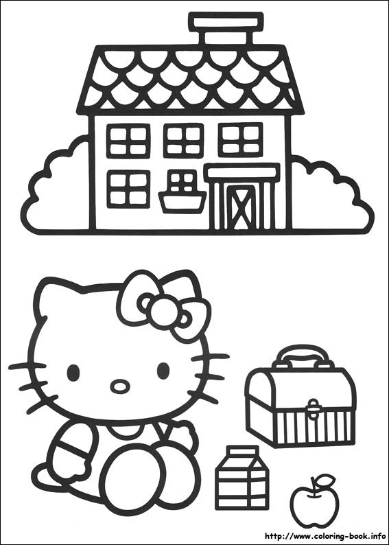 colorier hello kitty 11