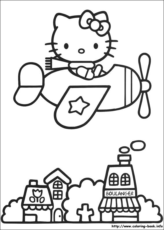colorier hello kitty 13