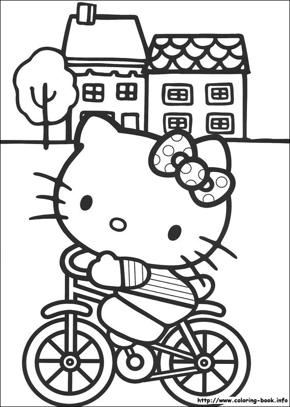 colorier hello kitty 14