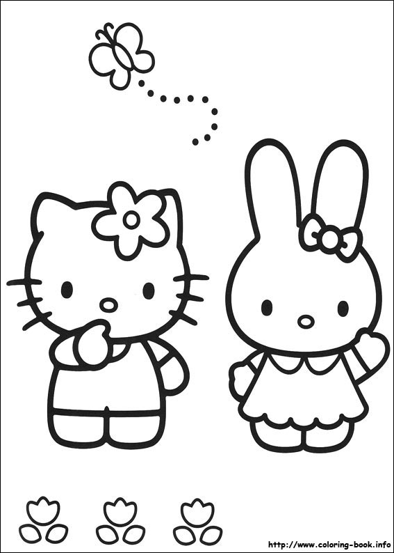 colorier hello kitty 15
