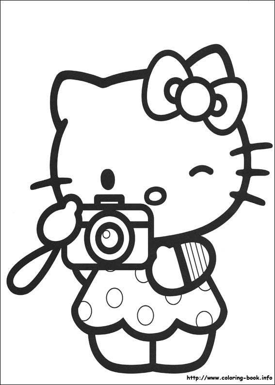 colorier hello kitty 16