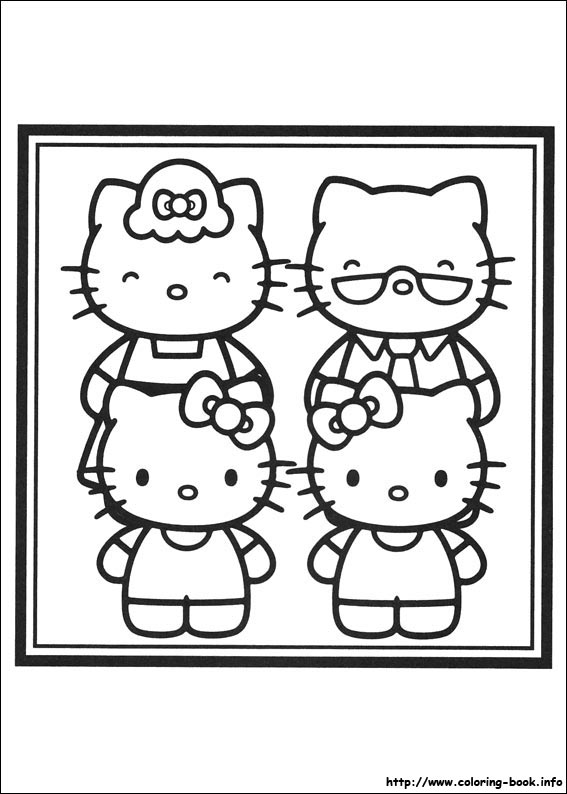 colorier hello kitty 17