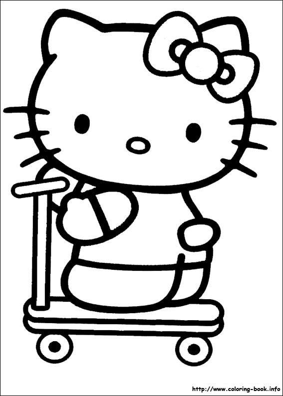 colorier hello kitty 18
