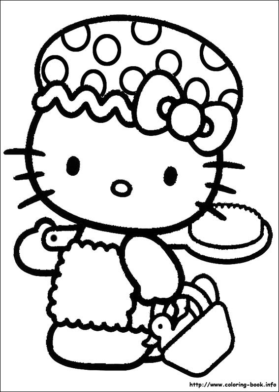 colorier hello kitty 19
