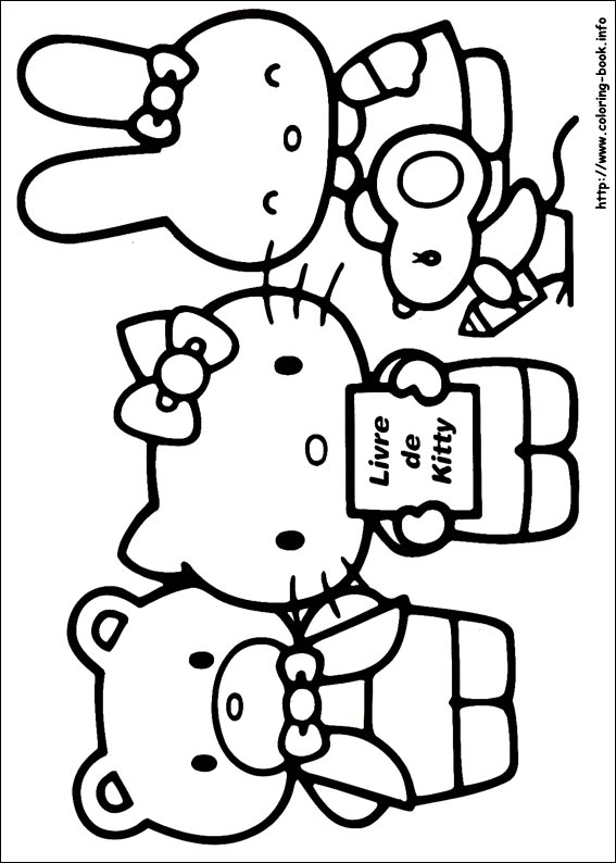 colorier hello kitty 20