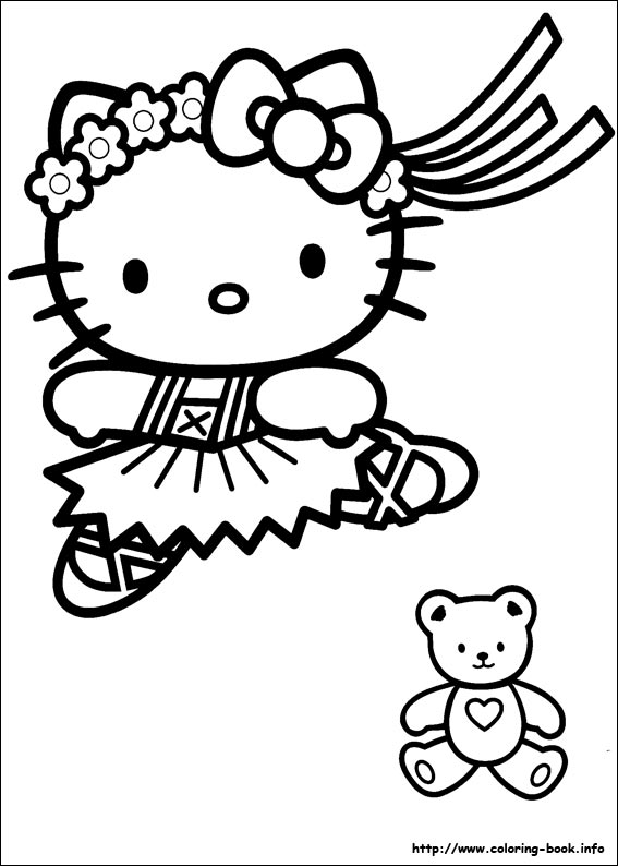 colorier hello kitty 22