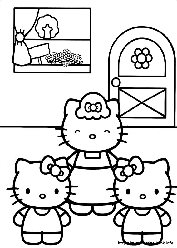 colorier hello kitty 24
