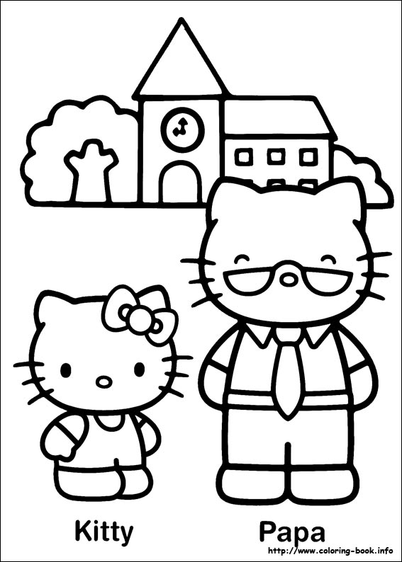 colorier hello kitty 25