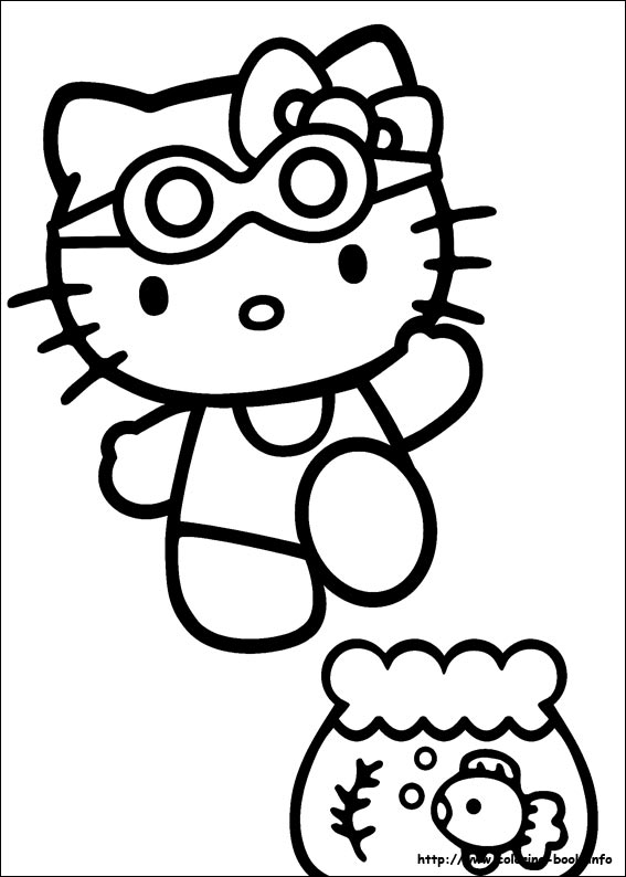 colorier hello kitty 26