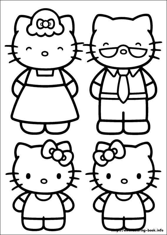 colorier hello kitty 27