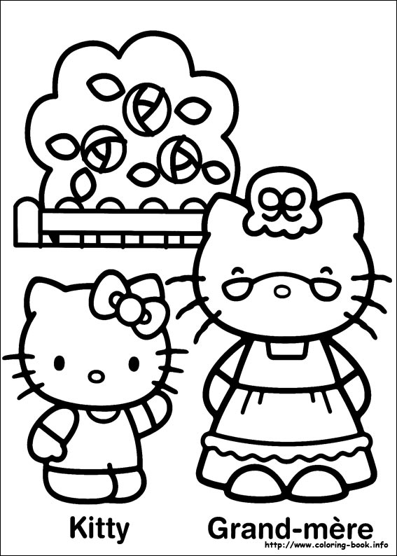 colorier hello kitty 28