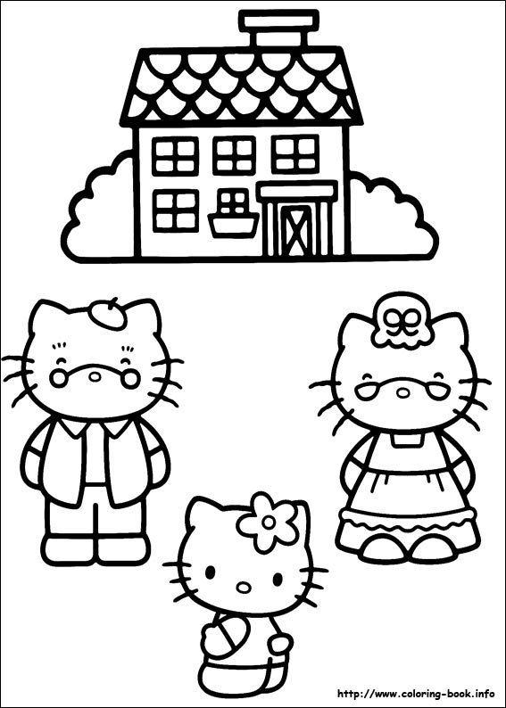 colorier hello kitty 30