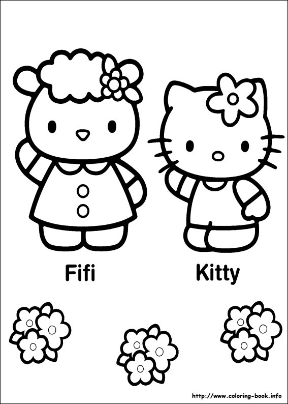 colorier hello kitty 33