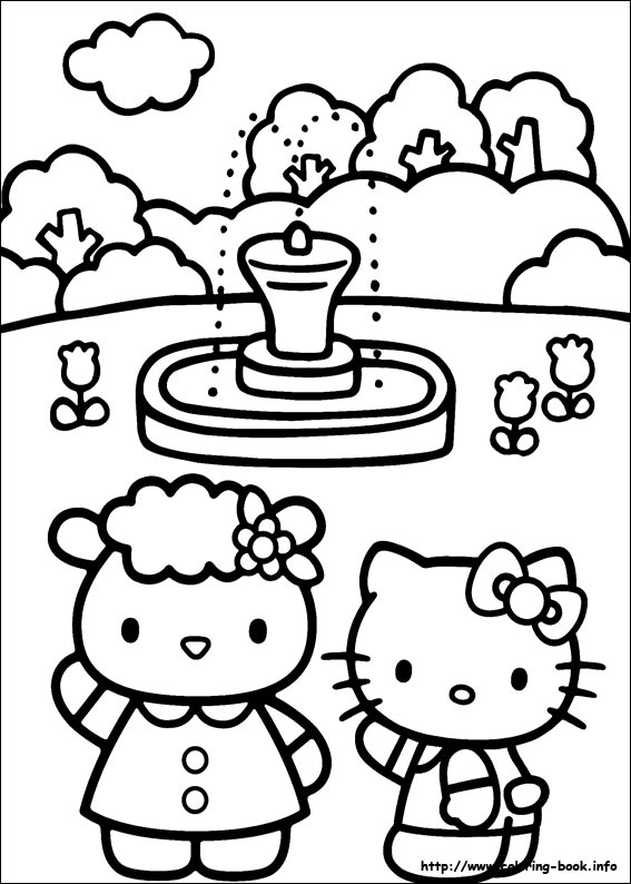 colorier hello kitty 34