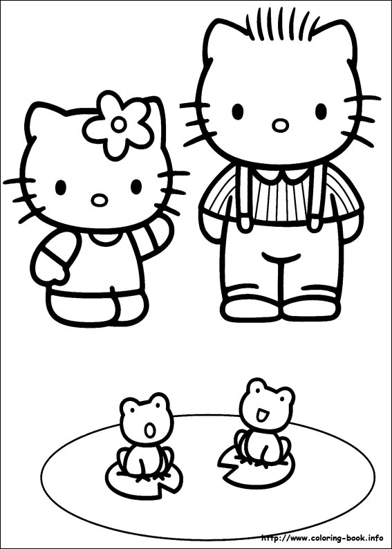 colorier hello kitty 35