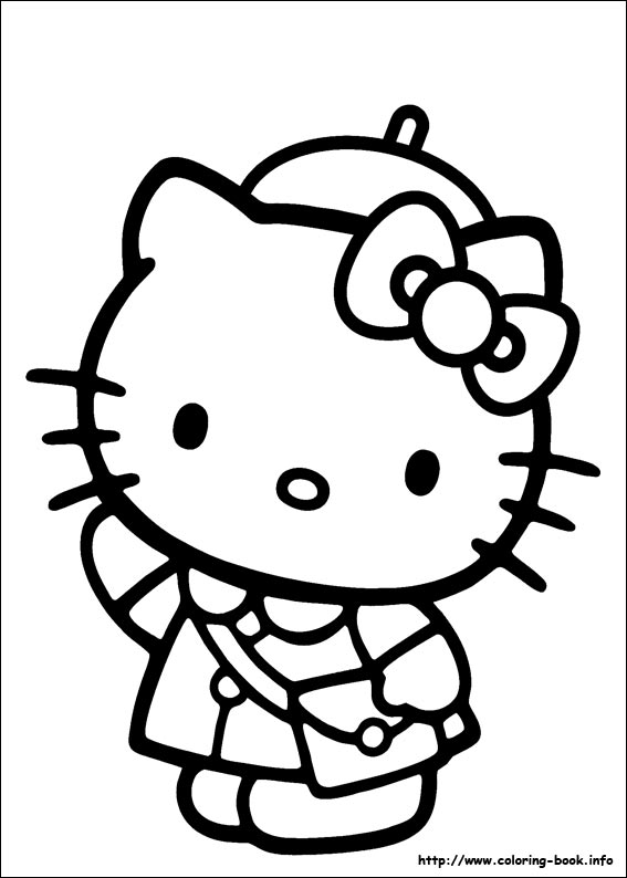 colorier hello kitty 37