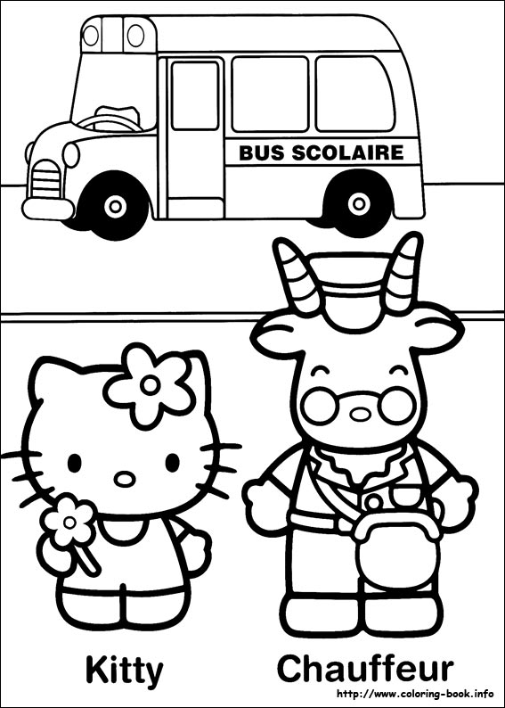 colorier hello kitty 38