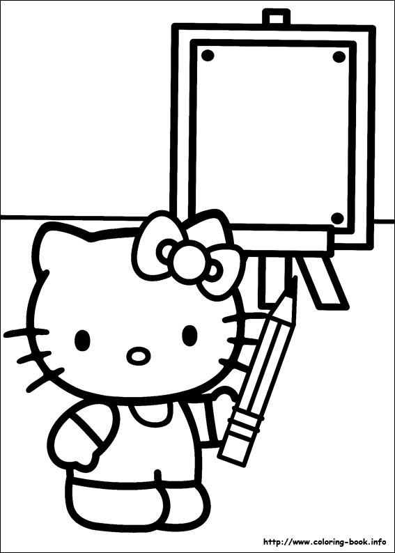 colorier hello kitty 39