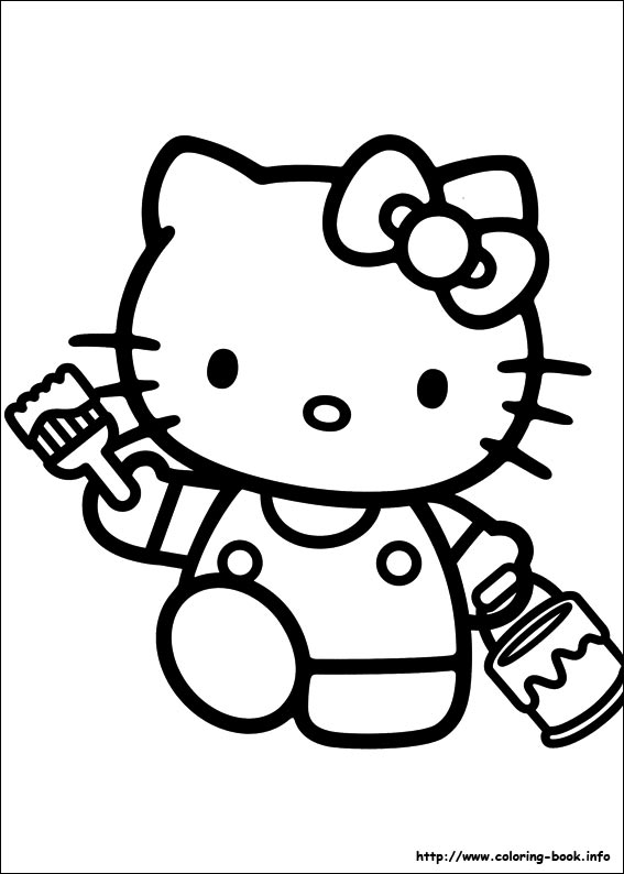 colorier hello kitty 40