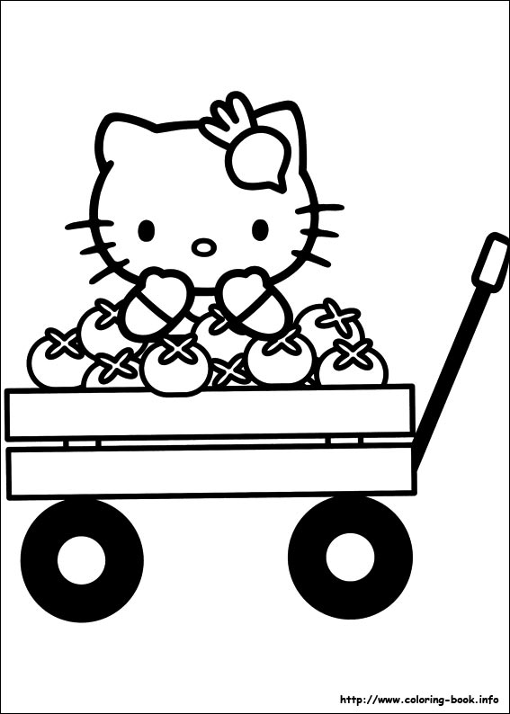 colorier hello kitty 42
