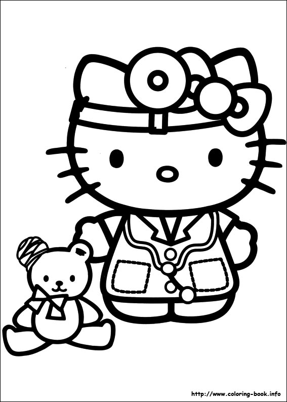 colorier hello kitty 44