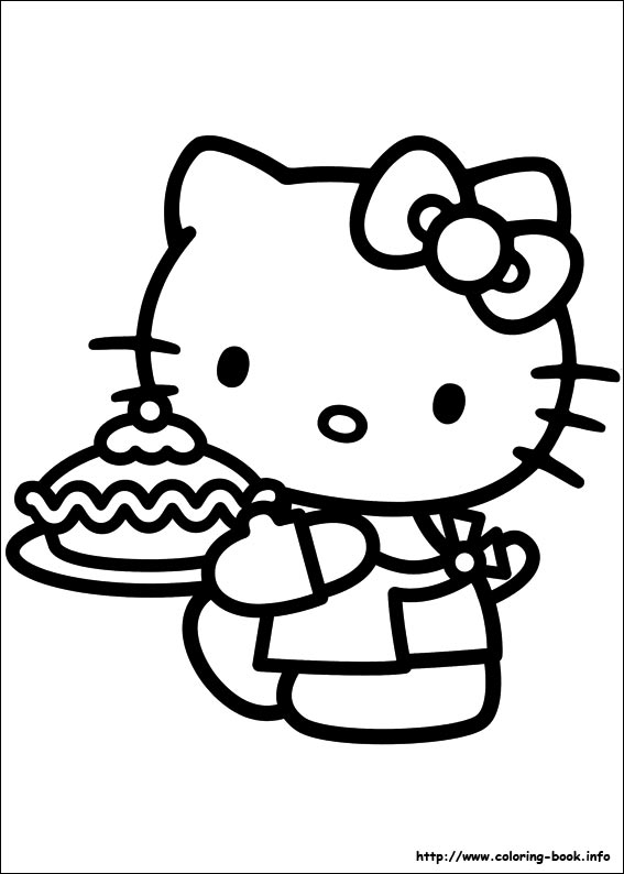 colorier hello kitty 45