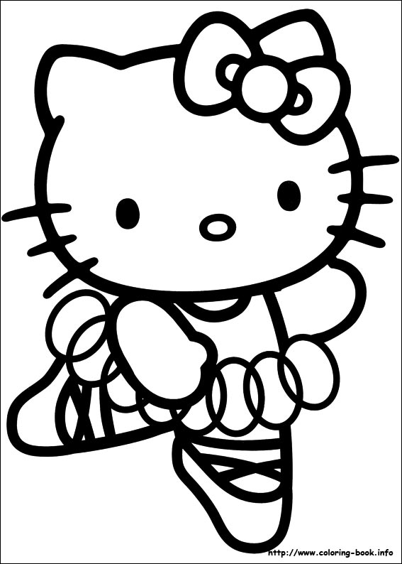 colorier hello kitty 46