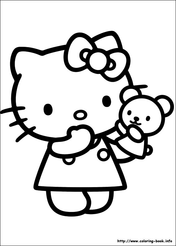 colorier hello kitty 49