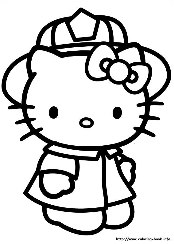 colorier hello kitty 52