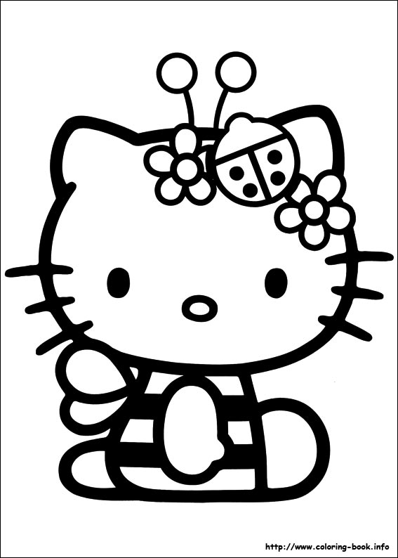 colorier hello kitty 55