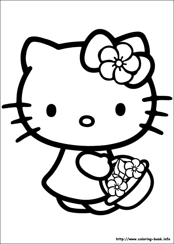 colorier hello kitty 58