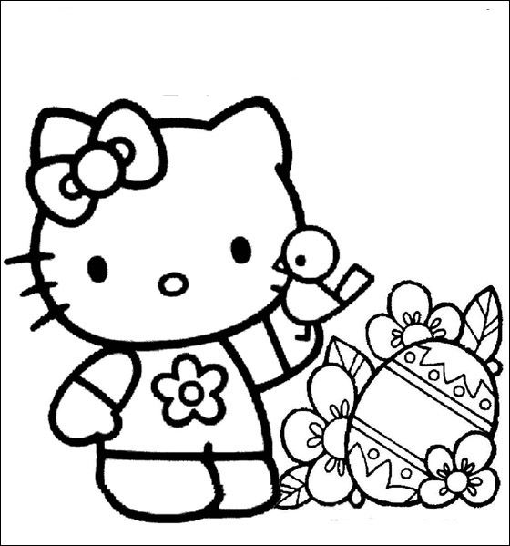 colorier hello kitty 8