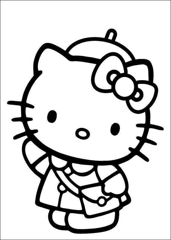 colorier hello kitty 9