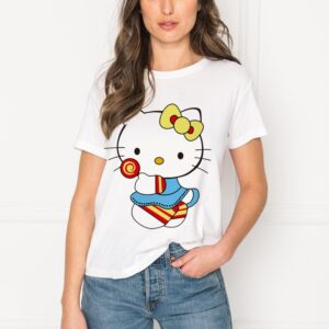 T-shirt hello kitty adulte
