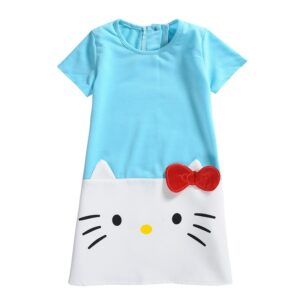 Robe hello kitty bleu