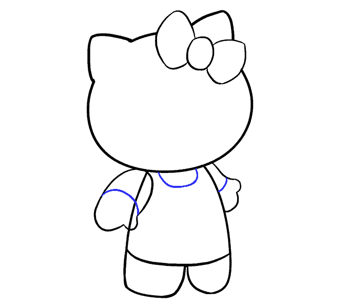 dessin hello kitty 11