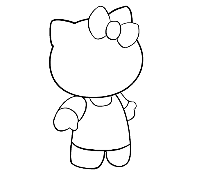 dessin hello kitty 12