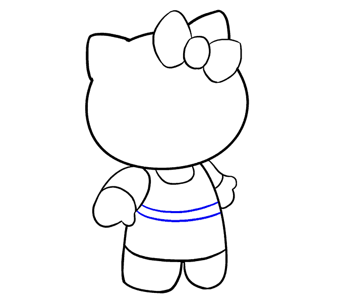 dessin hello kitty 13