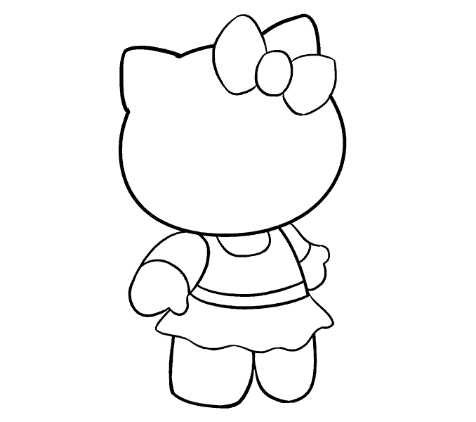 dessin hello kitty 15
