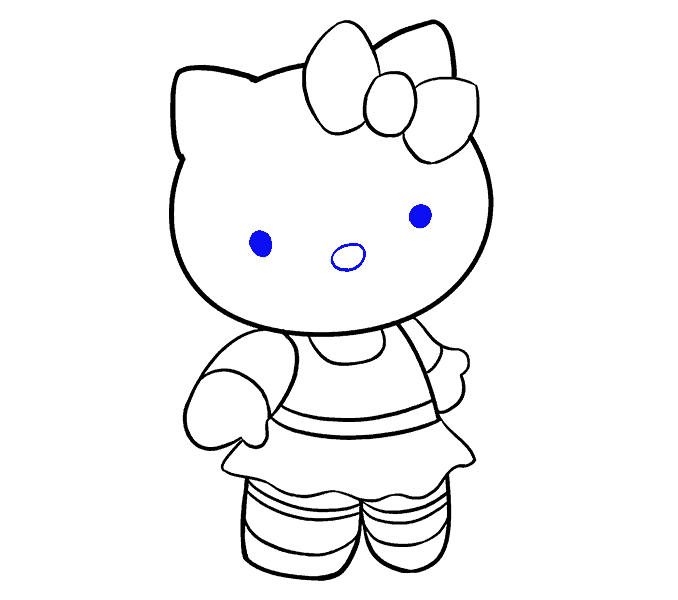 dessin hello kitty 18