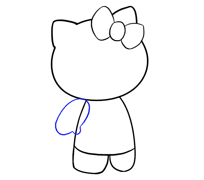 dessin hello kitty 9