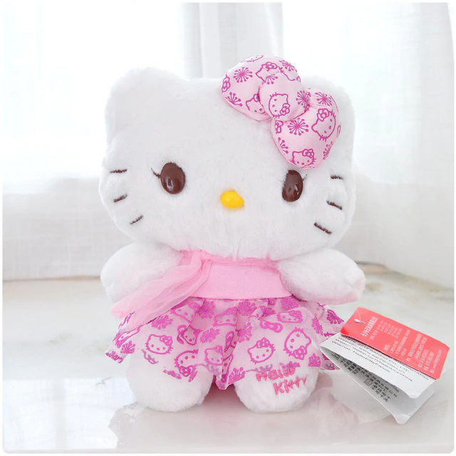 Peluche hello kitty bohème