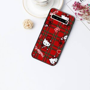 Coque hello kitty Samsung carreaux