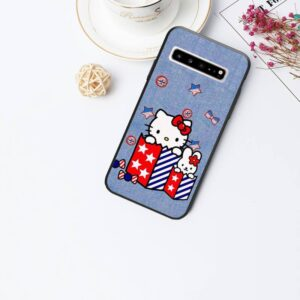 Coque hello kitty Samsung jeans
